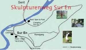 Skulpturenweg Sur En Sent