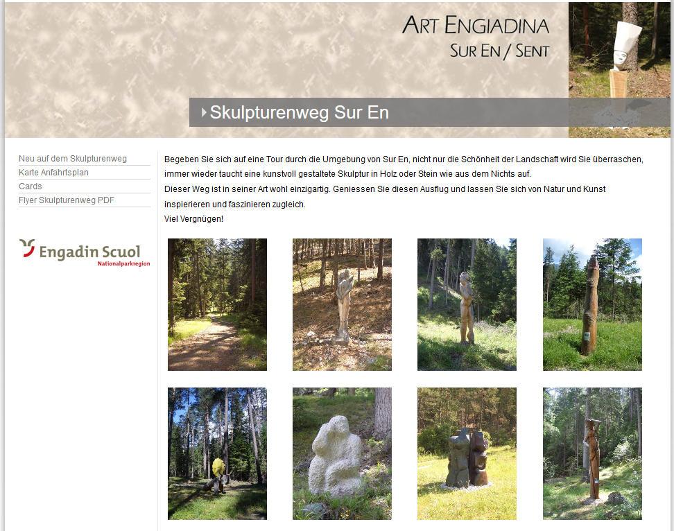 Skulpturenweg Sur En