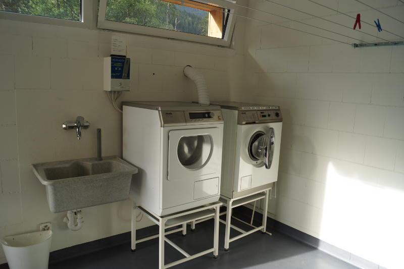 Wäsche Camping